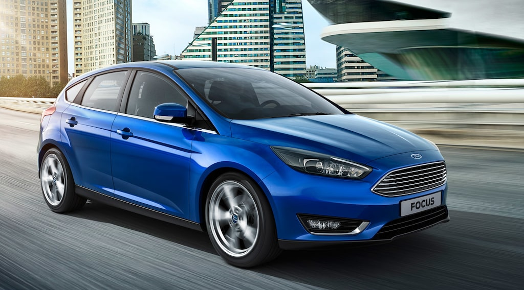 Ford Focus facelift 2015
