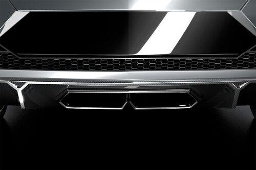 Första detaljbilen som Lamborghini delade med sig i mitten av september.