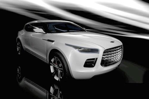 Aston Martin Lagonda Concept från 2009