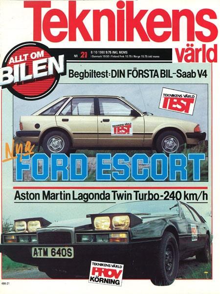Teknikens Värld nummer 21 / 1980