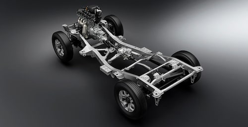 Suzuki Jimny må vara liten i formatet men är rejäl undertill.