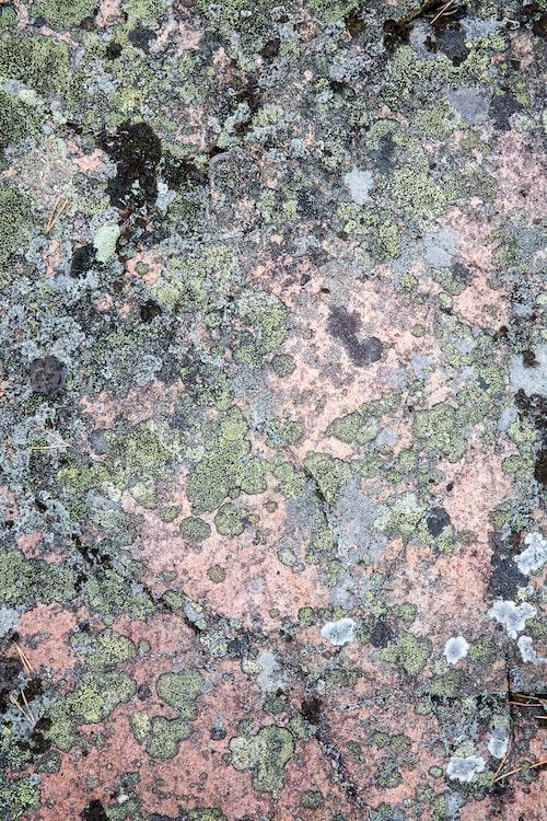 Lavarna på stenhällen är ett naturens konstverk.
