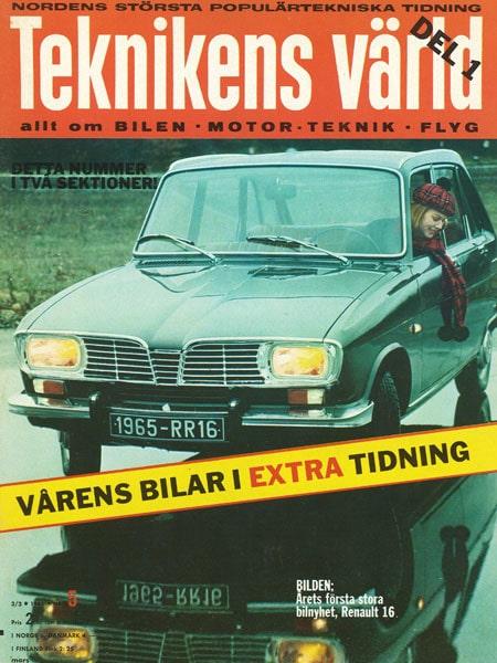 Teknikens Värld nummer 5 / 1965
