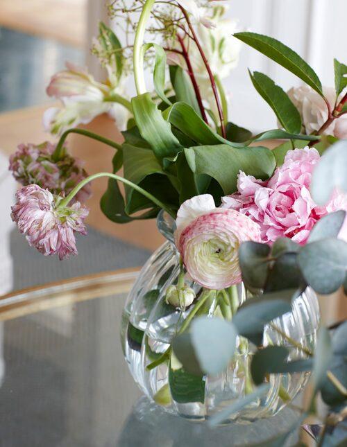 Skira blomster.
