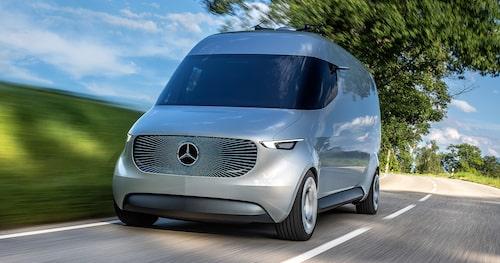Mercedes Vision Van Concept från i fjol.