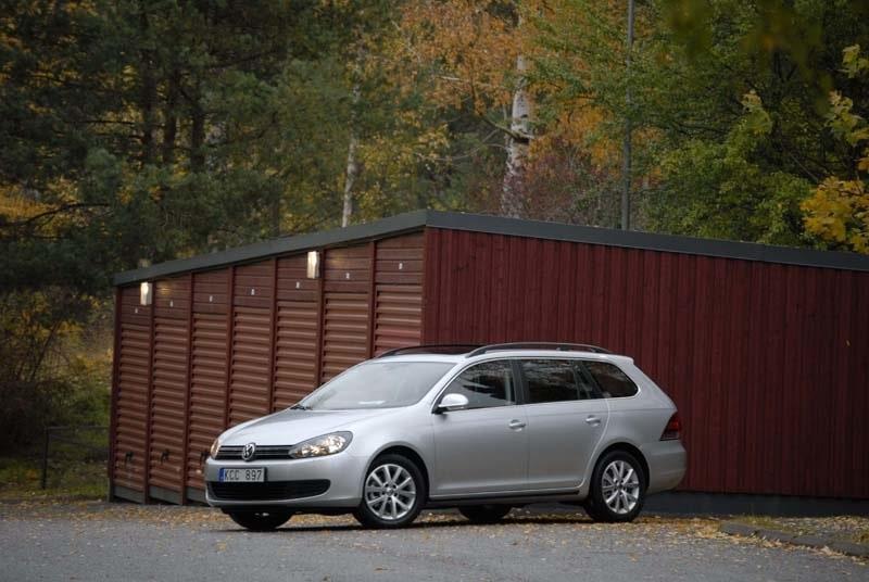 Provkörning av Volkswagen Golf Variant TSI 122