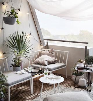 Inreda en liten balkong – 11 tips   Sköna hem