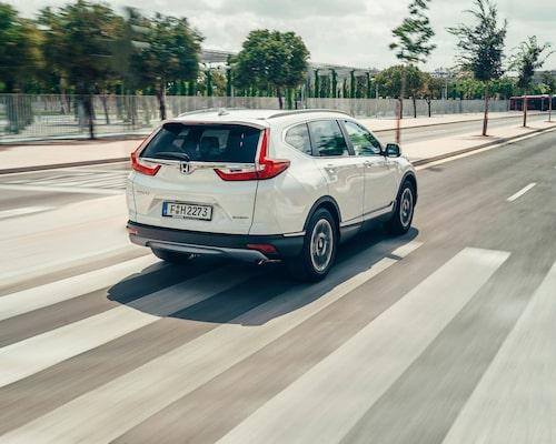 PeO Kjellström har nu utrett att CR-V står för Comfortable Runabout Vehicle.