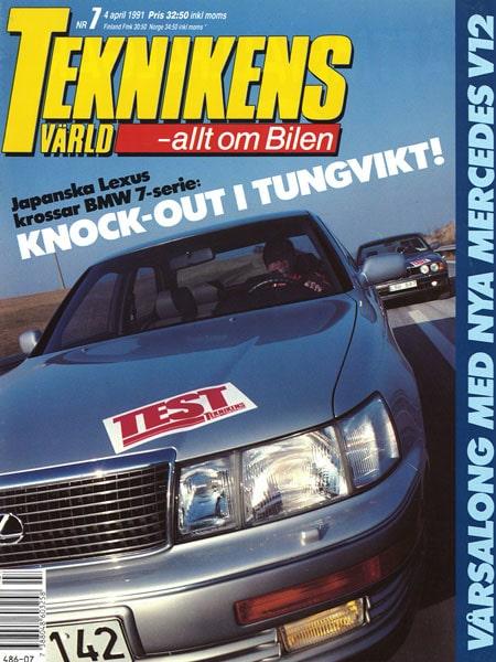 Teknikens Värld nummer 7 / 1991