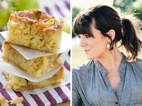 <p>Linn&eacute;a gillar att laga mat som inte &auml;r tillkr&aring;nglad. Den fluffiga ppelkakan &auml;r god med vaniljglass till.</p>