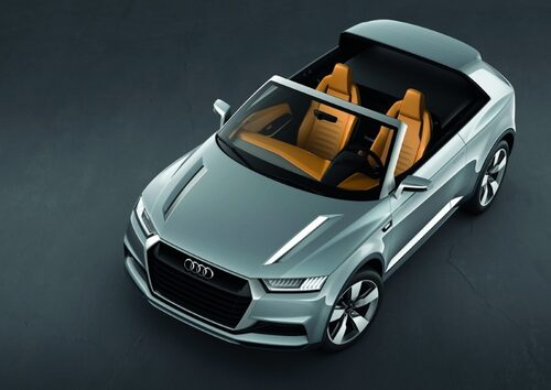 "Audi crosslane coupé <a href=""/2012/09/28/35095/vilken-bil-ar-din-favorit-i-paris-2012/"" style=""color: #fd9903; font-weight: bold;"">Är detta din favorit? Rösta här!</a>."