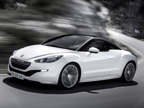 """Peugeot RCZ facelift <a href=""""/2012/09/28/35095/vilken-bil-ar-din-favorit-i-paris-2012/"""" style=""""color: #fd9903; font-weight: bold;"""">Är detta din favorit? Rösta här!</a>."""