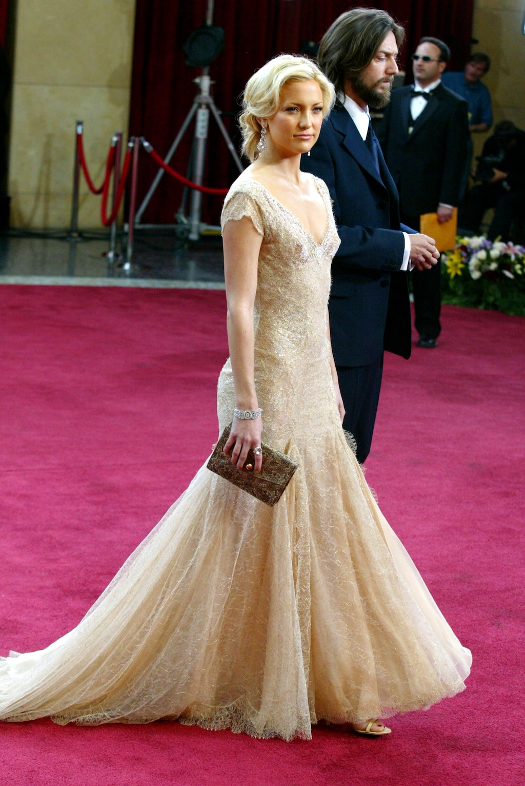 Nummer 2: Kate Hudson i Versace, 2003.