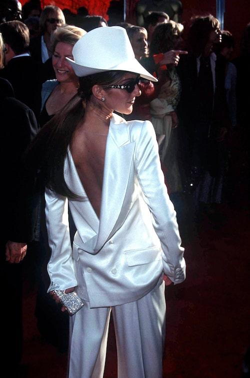 Ceine Dion i Dior, 1999.
