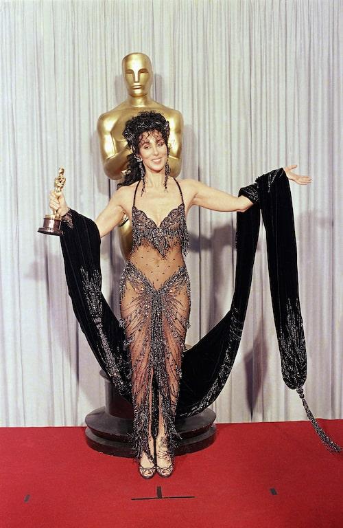 Cher i Bob Mackie, 1988.