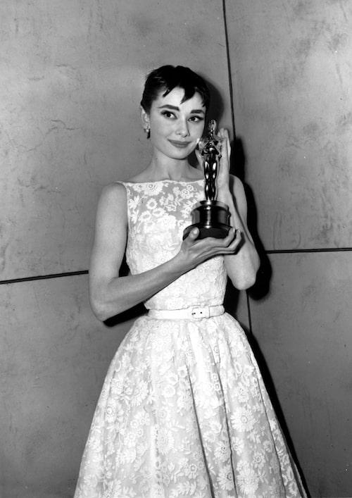 Audrey Hepburn i Givenchy, 1954.