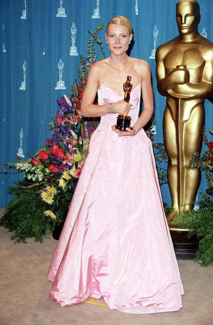 Nummer 9: Gwyneth Paltrow i Ralph Lauren, 1999.