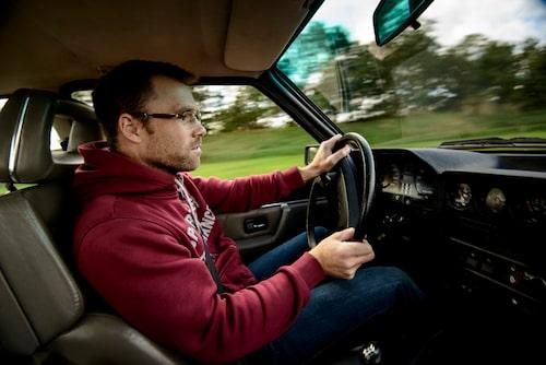 Bakom ratten i Sport quattro, det känns som en helt vanlig bil. I alla fall under 3000 r/min.