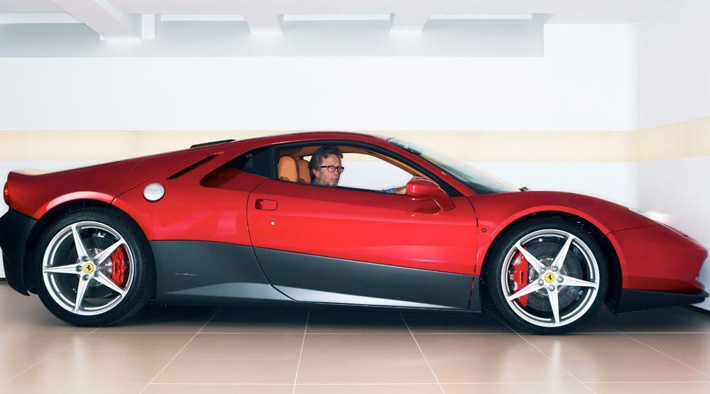 Ferrari SP12 EC à la Eric Clapton