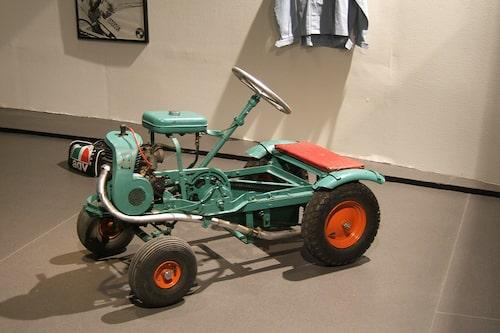 """Här började det. """"Traktorn"""" var Ronnie och brodern Tommys favorit."""