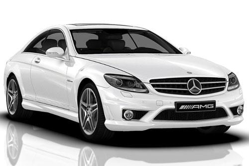 Mercedes CL AMG innan facelift