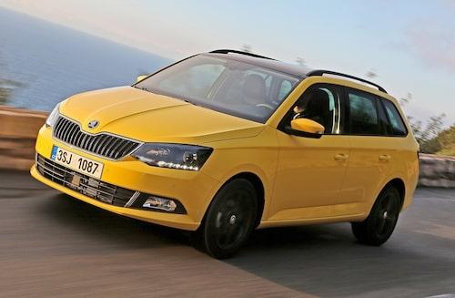 Nya Skoda Fabia Combi byggs på VW-koncernens moderna MQB-plattform.