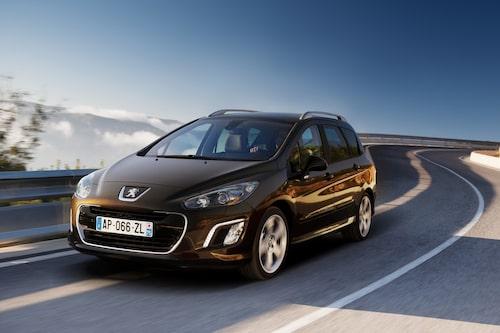 297 kronor per liter lastutrymme: Peugeot 308 SW. Pris från 169 900kronor. Bagageutrymme: 573 liter. Euro NCAP krocktestbetyg: 5 av 5.