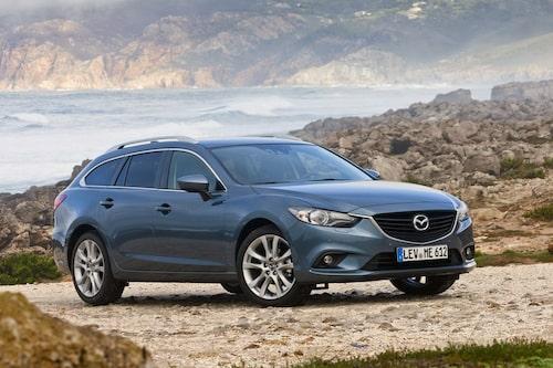 472 kronor per liter lastutrymme: Mazda 6 Wagon. Pris från 238 900kronor. Bagageutrymme: 506 liter. Euro NCAP krocktestbetyg: 5 av 5.