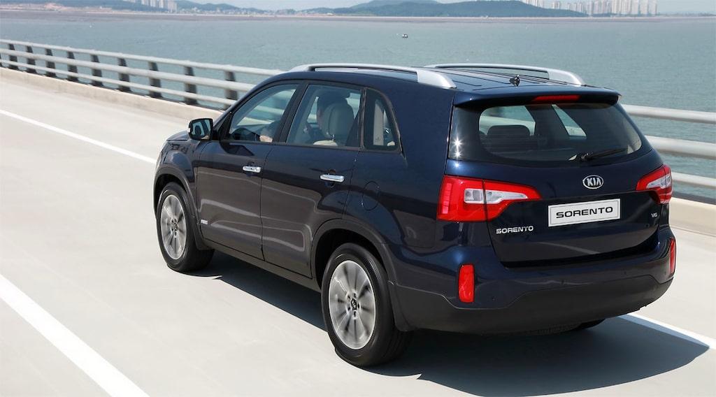 Kia Sorento facelift 2013