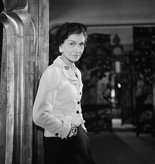 Kloka Coco Chanel i Paris 1937