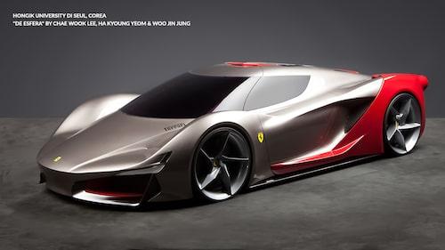 Ferrari Design Concept De Esfera