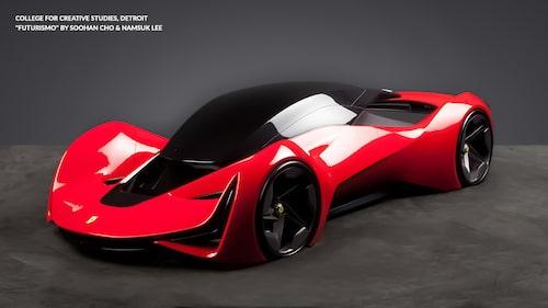 Ferrari Design Concept Futurismo