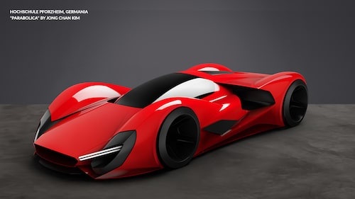 Ferrari Design Concept Parabolica