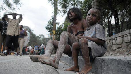 Hjälp barnen på Haiti