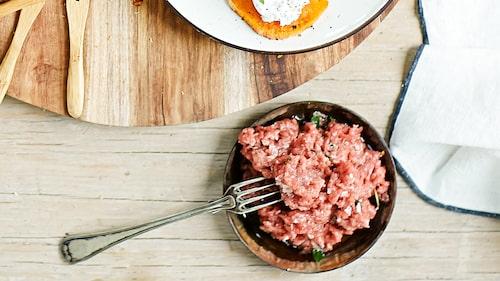 Recept på carne cruda.