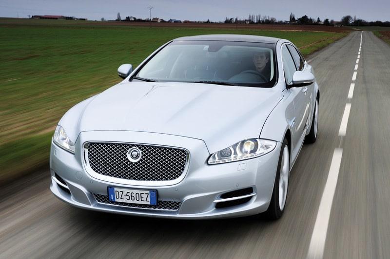 Provkörning av Jaguar XJ V8 5,0 Supercharged