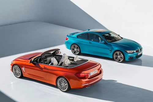 BMW 4-serie facelift