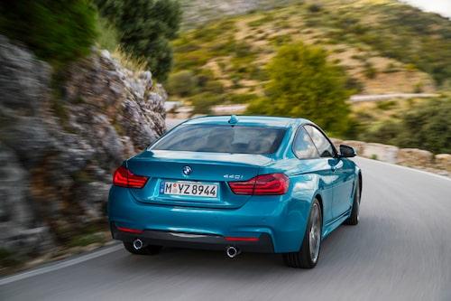 BMW 4-serie Coupé (M Sport) facelift