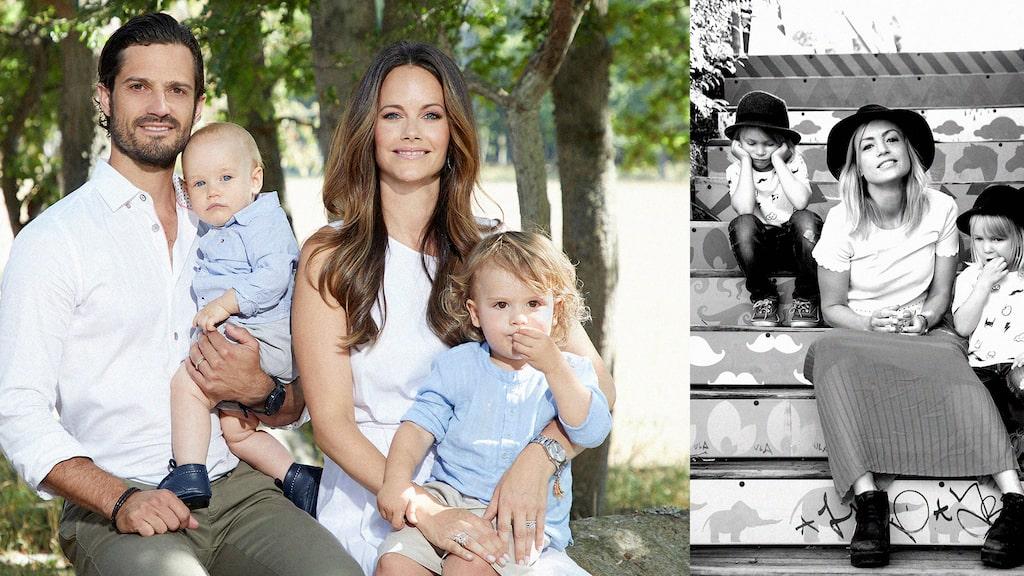 """Hur är prinsessan Sofia som mamma? mamas Lisa """"Knivlisa"""" Eriksson jämför sitt eget mammaliv med kunglighetens."""