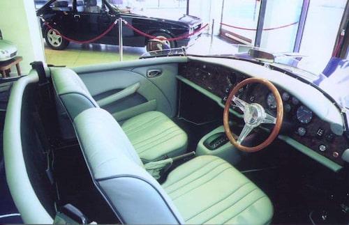 Bristol Blenheim Speedster har samma motor (V8 på 5,9 liter) som Series 6, Blenheim 3/3G och Blenheim Roadster.