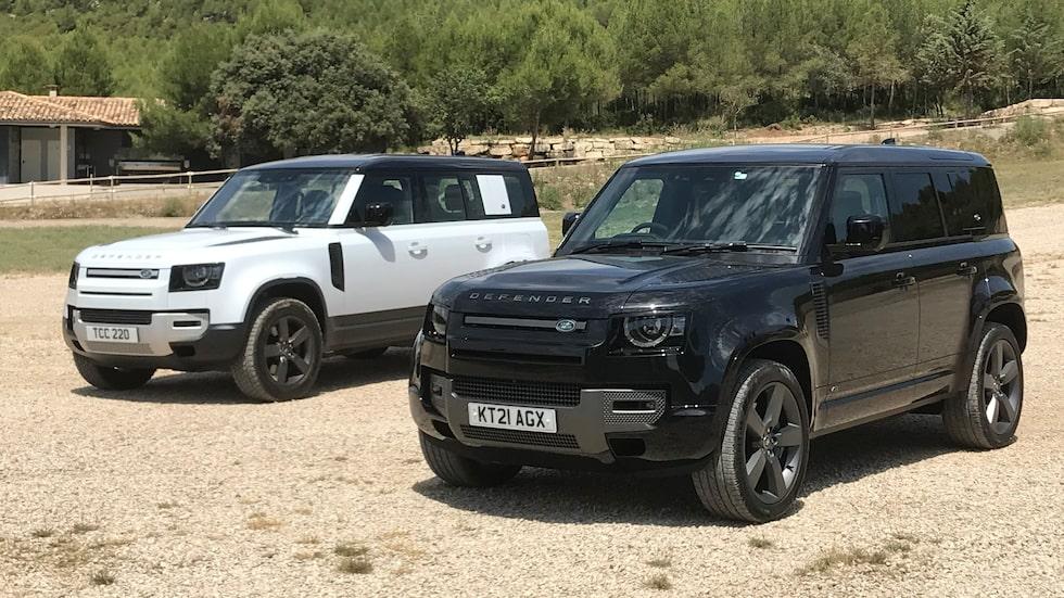 På bredden. Land Rover utökar sitt utbud med två nya Defender-modeller, två värstingar.