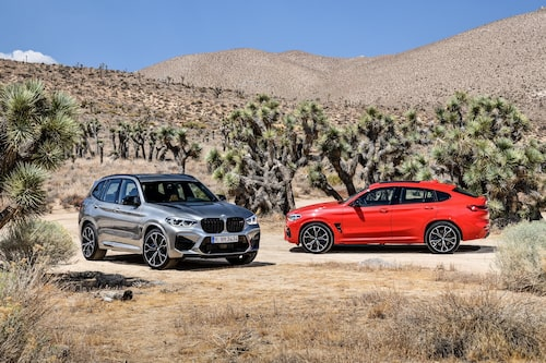 BMW X3 M Competition och BMW X4 M Competition 2020