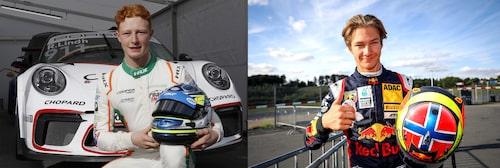 Rasmus Lindh och Dennis Hauger är båda gästförare i årets Porsche Carrera Cup Scandinavia.