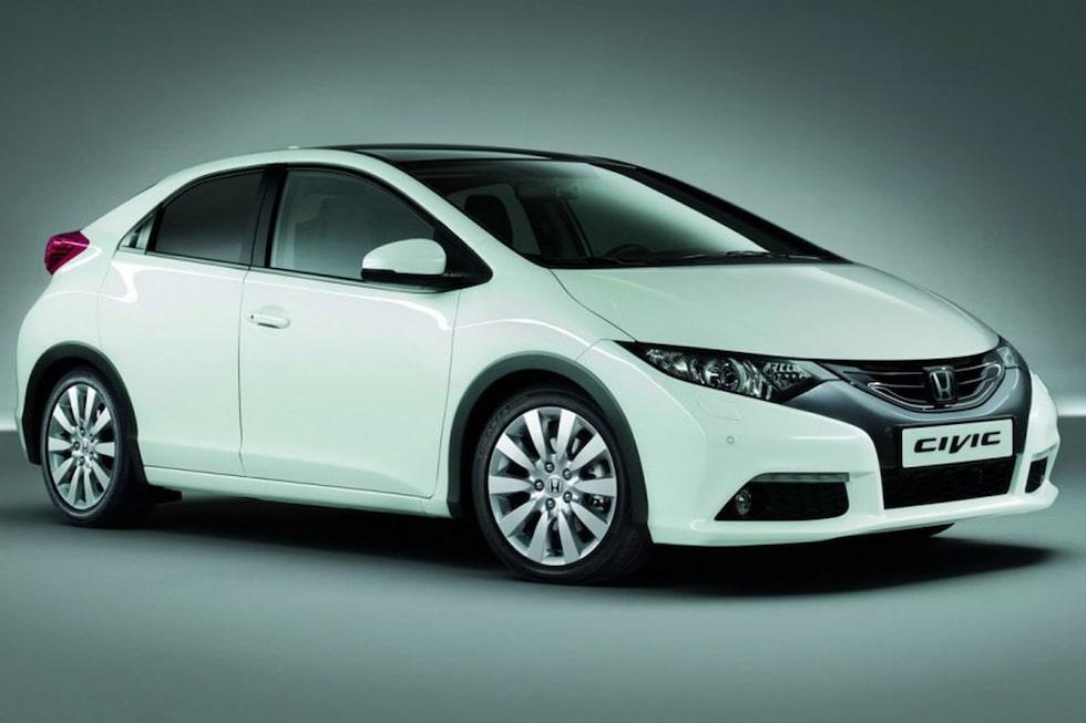 Nya Honda Civic 2012