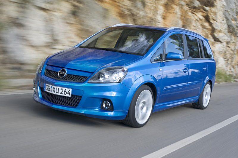 Provkörning av Opel Zafira II OPC
