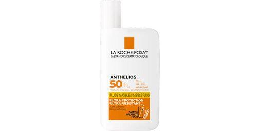 Recension på Anthelios ultra light spf 50 shaka fluid från La roche-posay.