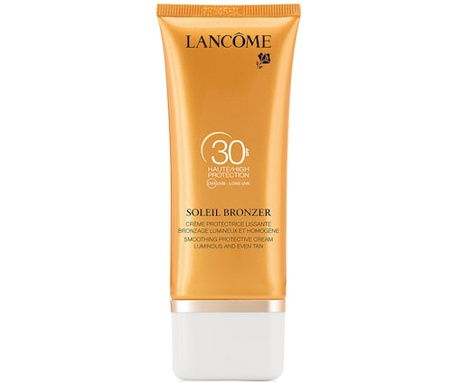 Recension av Soleil bronzer face cream spf 30, 50 ml, Lancôme.