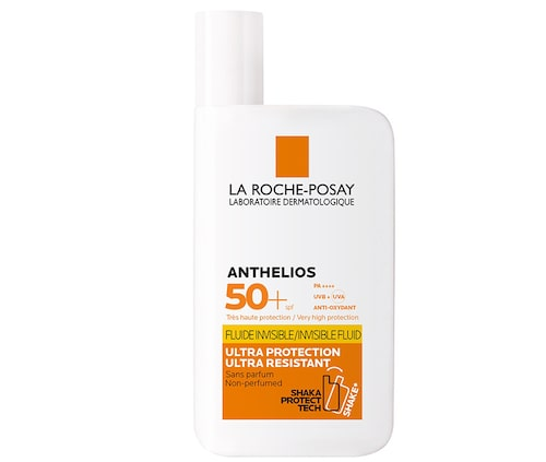 Recension av Anthelios xl ultra light shaka fluid spf 50, 50 ml, La roche-posay.