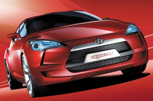 Hyundais konceptbil Veloster