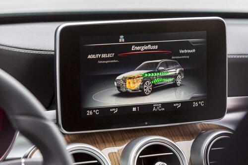 Mercedes C 350 Kombi Plug-in Hybrid 2016